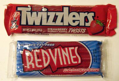 Twizzlers Vs Red Vines
